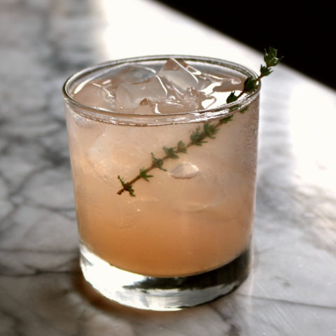Thyme Bandits cocktail